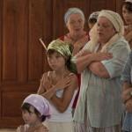 Воцерковление огласительной группы на праздник апостолов Петра и Павла в 2010 году