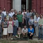 Воцерковление огласительной группы на Пасху 2011 года