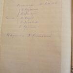 Протокол приходского собрания от 26 февраля 1928 года (ГАВО ф. P-322, оп. 1, д. 172 л. 118об)